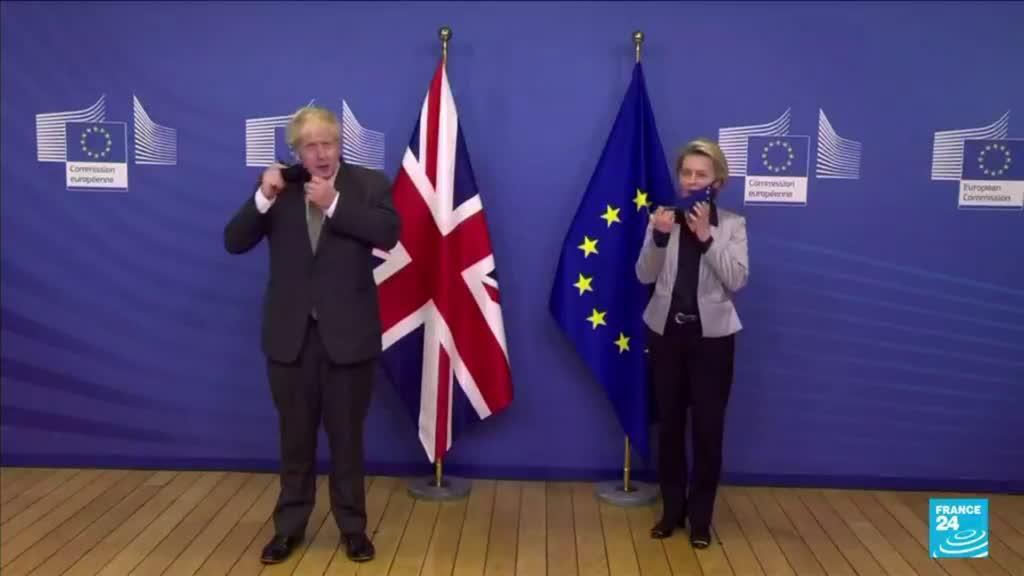 2021-10-13 09:02 Irlande du Nord : Londres et Bruxelles en opposition sur le protocole post-Brexit