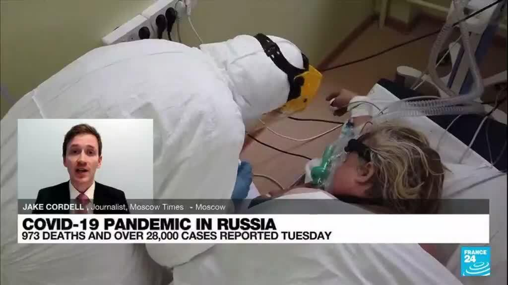 2021-10-13 08:11 Russia reports record daily Covid-19 death toll for second day running