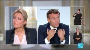 2020-10-14 20:00 REPLAY - Macron décrète un couvre-feu en Ile-de-France et sur 8 métropoles entre 21H00 et 06H00