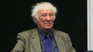 Seamus Heaney à l'université de Dublin, le 11 février 2009.