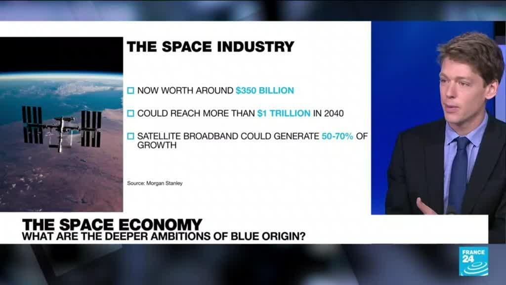 2021-07-20 09:09 The space economy: What are the deeper ambitions of Blue Origin?