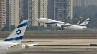 An El Al airliner carrying a US-Israeli delegation to the UAE following the normalisation accord lifts off in the first-ever commercial flight from Israel to the UAE