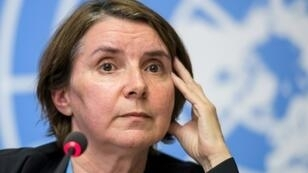 Head of the International, Impartial and Independent Mechanism for Syria crimes, French judge Catherine Marchi-Uhel