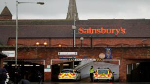 El hospital de Salisbury en donde fueron atendidos los Skripal luego de ser envenenados.