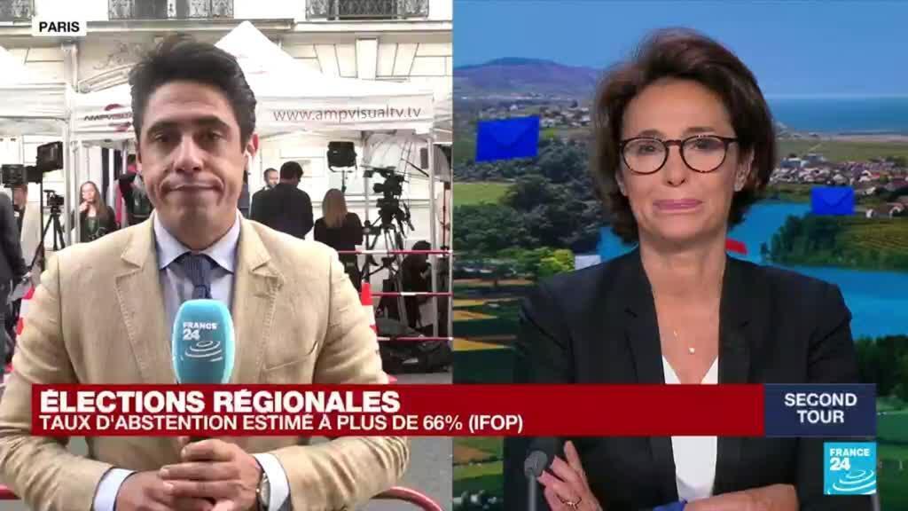2021-06-27 19:47 Elections régionales en France : l'abstention record se confirme au second tour