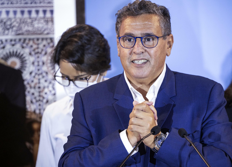 رئيس حزب التجمع الوطني للأحرار ورجل الأعمال عزيز أخنوش المكلف تشكيل حكومة جديدة في المغرب