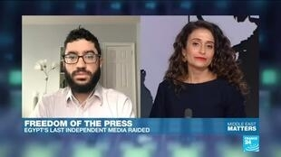 2019-11-27 11:21 Freedom of the press: Egypt's last independent media raided