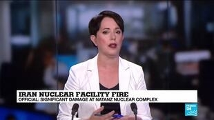 2020-07-06 12:05 Cyberattack possible cause of fire at Iran nuclear complex