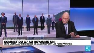 2021-06-11 17:06 Covax : les pays du G7 promettent un milliard de doses de vaccin pour les pays les plus pauvres
