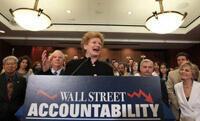 Democrats celebrate passage of financial reform bill