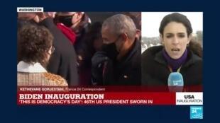 2021-01-20 18:36 Joe Biden to head to Arlington ceremony after being sworn in as US President