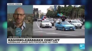 2020-11-09 13:07 Losing the battle? Fears Armenian forces overrun in key town