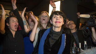 La fondatrice du Parti pirate, Birgitta Jonsdottir, à Reykjavik, le 25 octobre 2016.