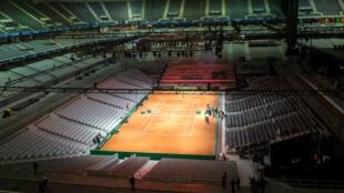 Le stade Pierre-Mauroy accueillera la finale de Coupe Davis, du 24 au 26 novembre.