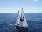 D'escale en escale, Blue Panda alerte sur les dangers du plastique en Méditerranée