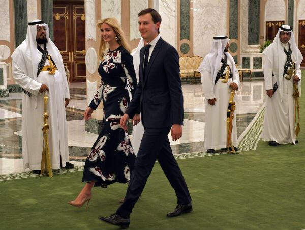 إيفانكا ترامب في السعودية