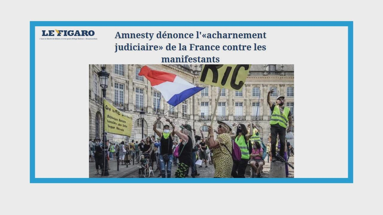 """Manifestation des """"gilets jaunes"""" en France"""