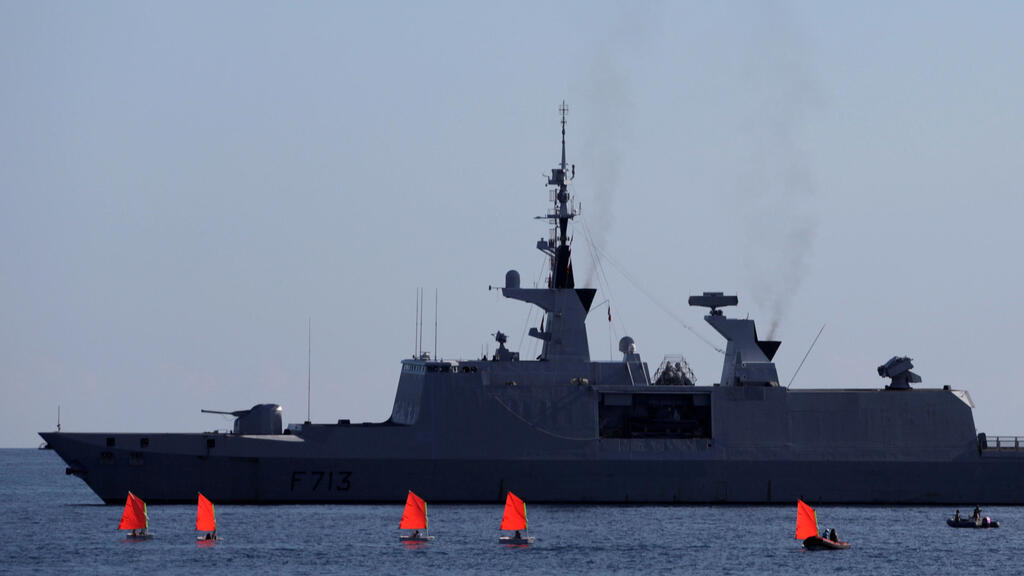 France suspends role in NATO naval mission over tensions with Turkey