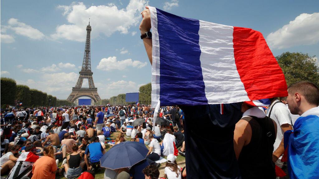 París vivió la emoción del triunfo del equipo francés en la Copa del Mundo el 15 de julio de 2018.