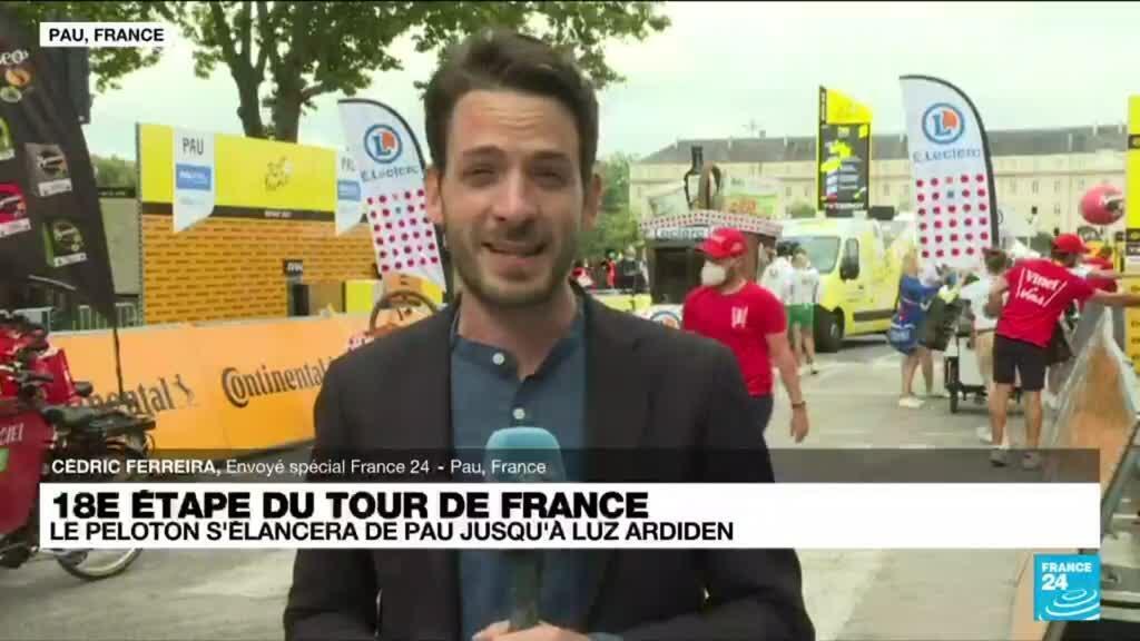 2021-07-15 10:07 Tour de France : le peloton s'élancera de Pau jusqu'à Luz Ardiden
