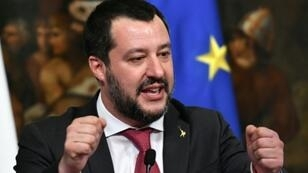 """Salvini's trenchant criticism of President Macron came after populist coalition partner Luigi di Maio had Monday blasted France for """"continuing to colonise"""" and """"impoverish"""" Africa"""