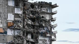 immeuble effondre