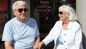 Retraités en Floride, les époux Lipkin vont rester fidèles à Obama