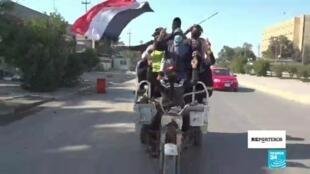 Reporteros Irak insurrección