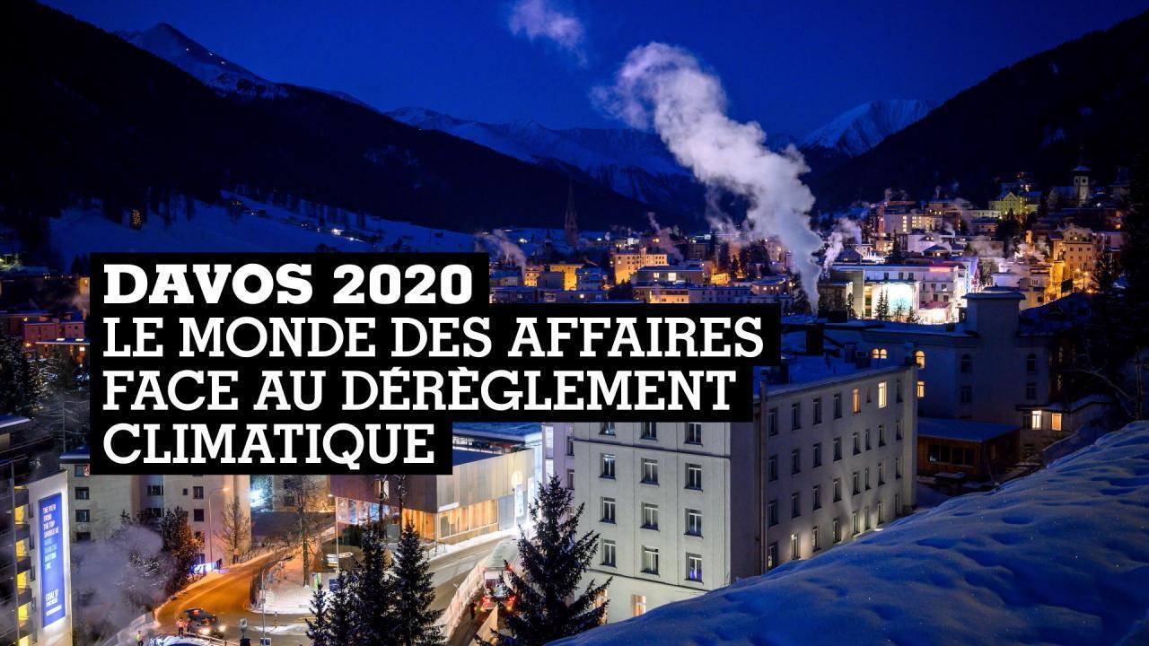 Davos - le monde des affaires face au dérèglement climatique