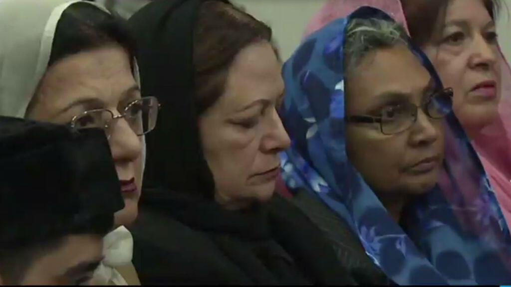Des membres de la communauté musulmane Ahmadiyya en Californie.
