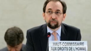 مفوض الأمم المتحدة لحقوق الإنسان زيد بن رعد الحسين