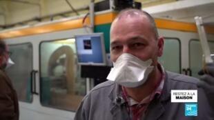 2020-04-16 09:03 Coronavirus : La mairie de Nancy distribue des visières de protection aux commerçants