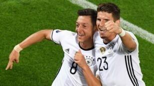 ألمانيا ستواجه في نصف النهائي الفائز من فرنسا - آيسلندا