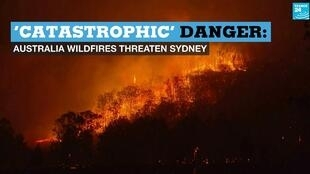 "Authorities in Australia have issued a ""catastrophic"" fire warning for Sydney as bushfires in the region burn out of control."
