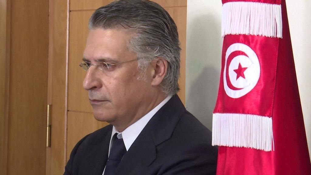 El candidato presidencial tunecino Nabil Karoui fue arrestado por presunto lavado de dinero y corrupción, el pasado 23 de agosto de 2019.