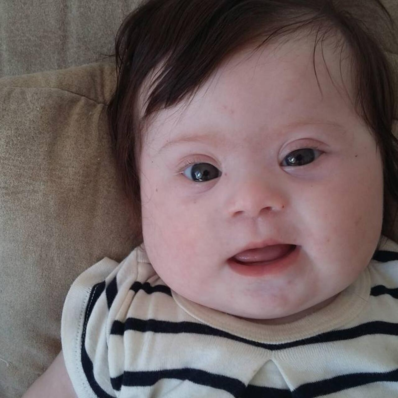 French mother's Facebook post on her baby's Down syndrome goes viral
