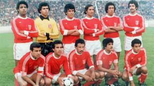 المنتخب التونسي أثناء كاس العالم 1978
