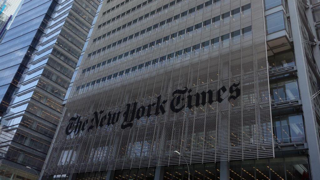 L'immeuble du New York Times. Le célèbre quotidien de la côte est a été victime d'une tentative d'intrusion informatique.