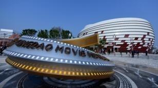 La Cité orientale du ciéma a été inaugurée samedi 28 avril, à Ginqdao, dans l'et de la Chine.