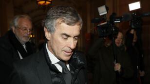 L'ex-ministre du Budget Jérôme Cahuzac arrivant au Palais de justice de Paris le 8 décembre.