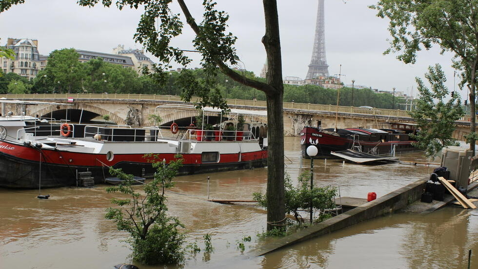 Heavy rains across northern Europe have caused massive flooding, forcing thousands to flee their homes in France and Germany. Some parts of central Paris are also at risk.