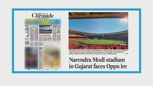 Le premier ministre indien baptise un stade de cricket à son nom