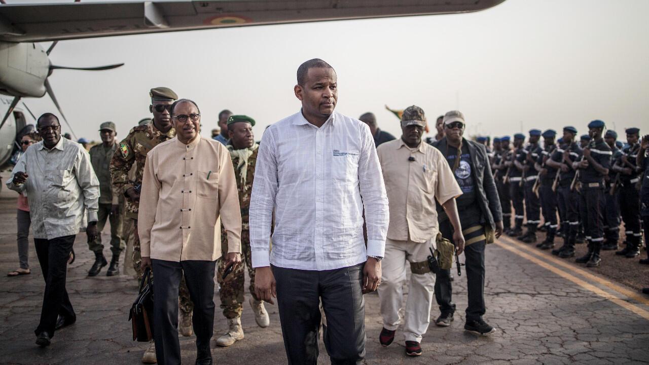 Le Premier ministre malien, Boubou Cissée, est en place depuis avril 2019. Ici à Sevare, dans le centre du Mali, le 3 juillet 2019.