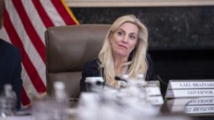 Esta foto de archivo del 04 de octubre muestra a la gobernadora de la Fed,Lael Brainard, en Washington