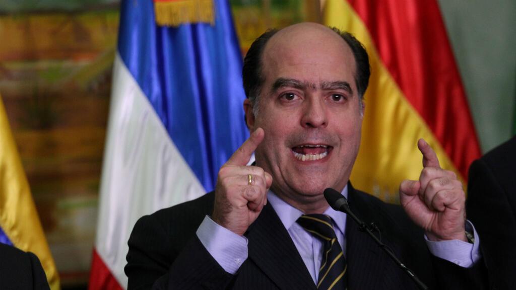 El presidente de la Asamblea Nacional y miembro de la coalición de oposición MUD, Jorge Borges, participó en los diálogos del 2 de diciembre del 2017, en Santo Domingo.