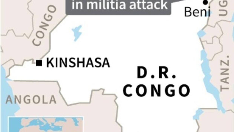 10 civilians killed in militia attack in eastern DRCongo