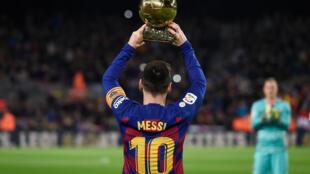 Messi won the 2019 Ballon d'Or