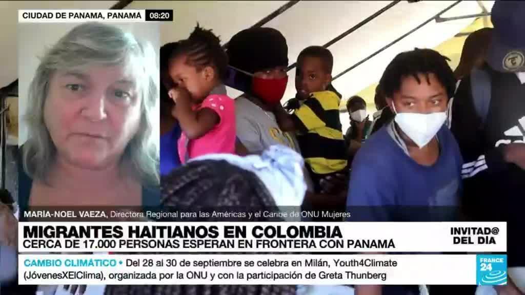 """2021-09-28 15:18 María-Noel Vaeza: """"Lo más impresionante de las mujeres haitianas es su resiliencia"""""""