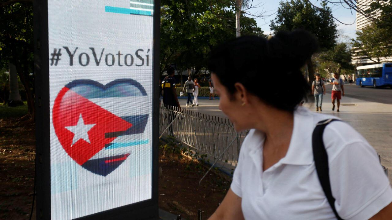 Les Cubains étaient appelés à se prononcer sur la nouvelle Constitution dimanche 24 février par referendum.