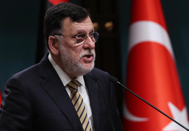 Libyan leader Fayez al-Sarraj has said he plans to step down